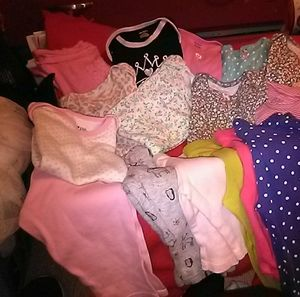 Baby girls clothes 3-12 mo. In great condition pri